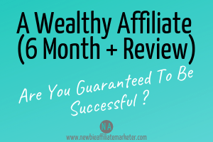 A wealthy affiliate 6 month review