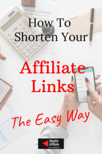 how to shorten your affiliate links