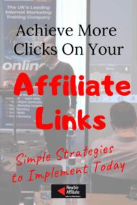 get more clicks on affiliate links
