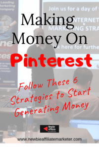 Steps to make money on Pinterest