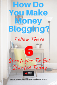 creating an income through blogging