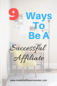 be a successful affiliate
