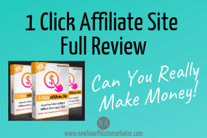 1 click affiliate site review