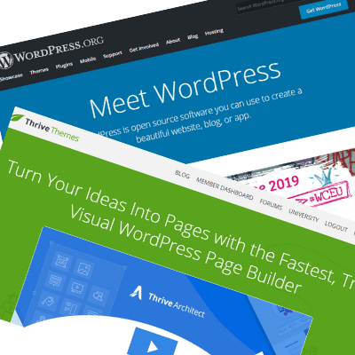 Thrive themes and WordPress image