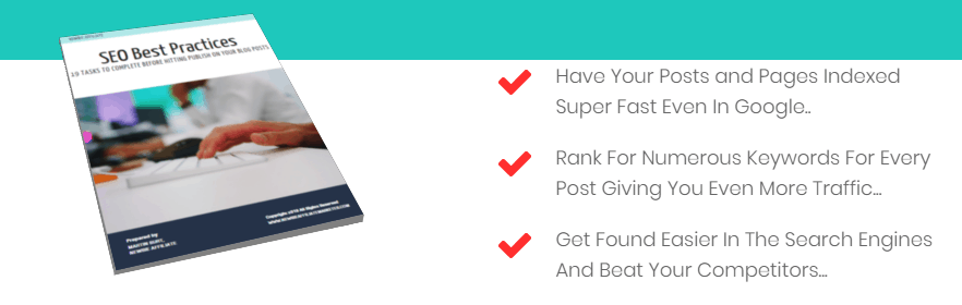 landing page image and benefits example