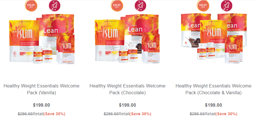 plexus welcome packs