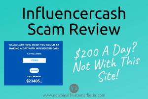 influencercash scam review