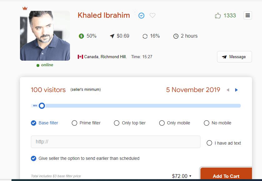 udimi sellers profile