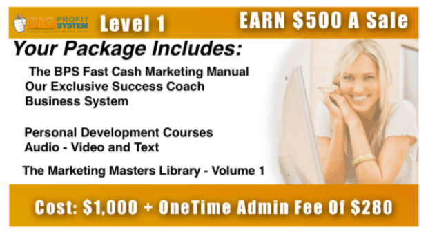 level one training in big profits system