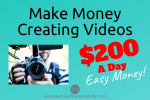 making money creating videos