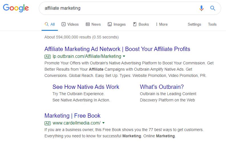 google ads on google