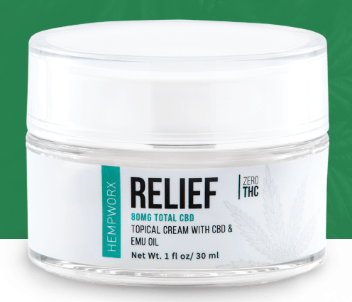 relief CBD cream